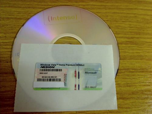 Windows Vista Home Premium OEM - German 32 Bit